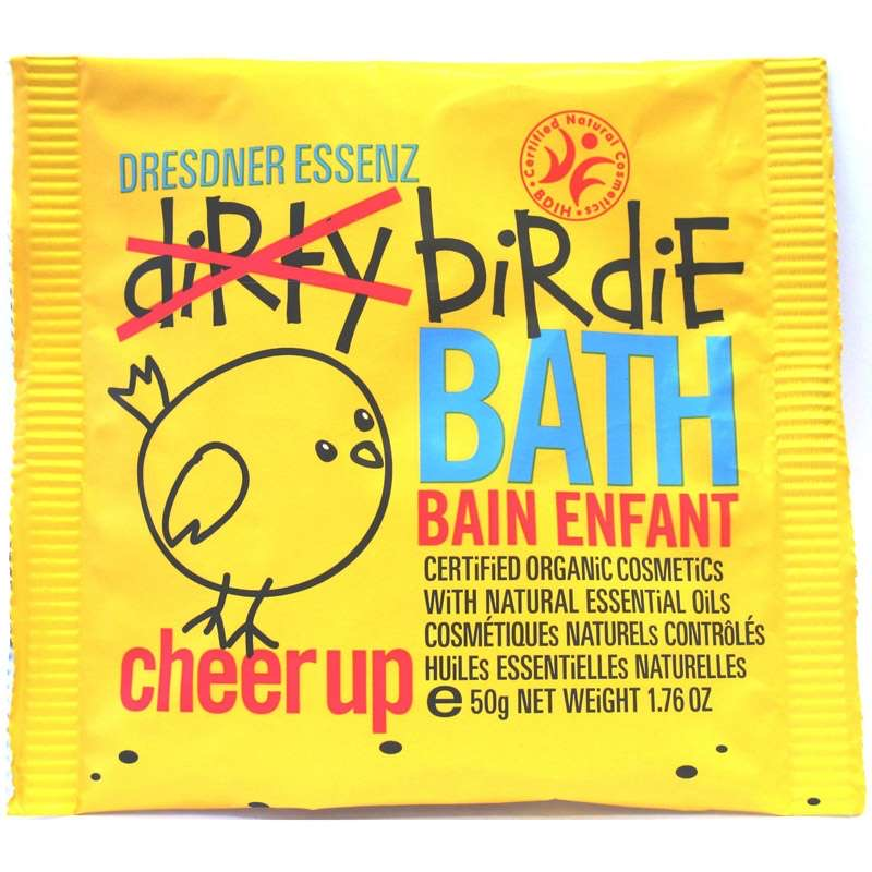 Dresdner Essenz Dirty Birdie Bath Powder - Cheer Up - Grapefruit & Orange Oil