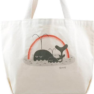 Whale Rainbow tote - includes free delivery on Oahu