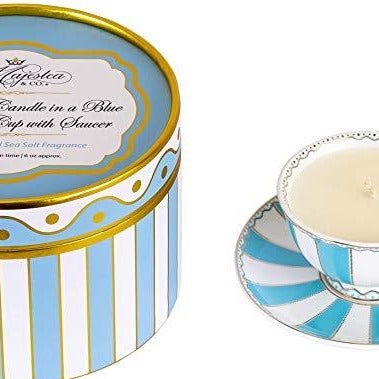 Majestea & Co. - Soy Candle in Tea Cup w Saucer