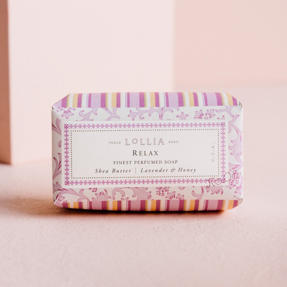 Lollia - perfumed shea butter soap