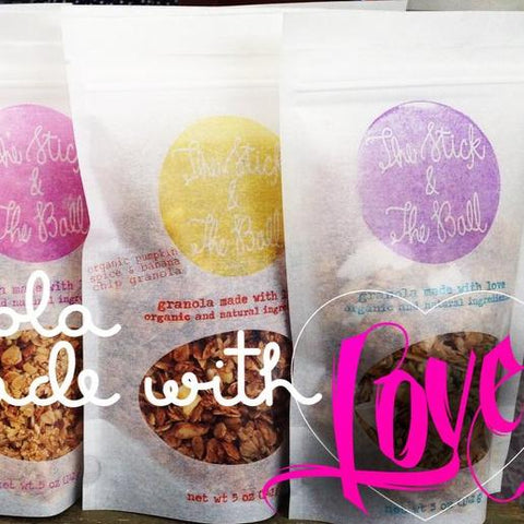 Granola made with love on Oahu