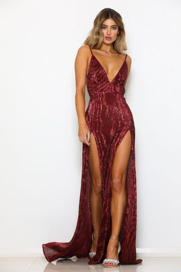 Encore Gown Red