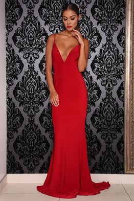 Chile Gown Red