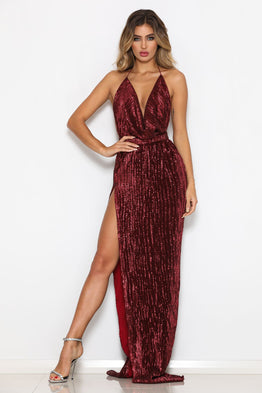 Icon Gown Red