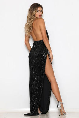 Icon Gown Black