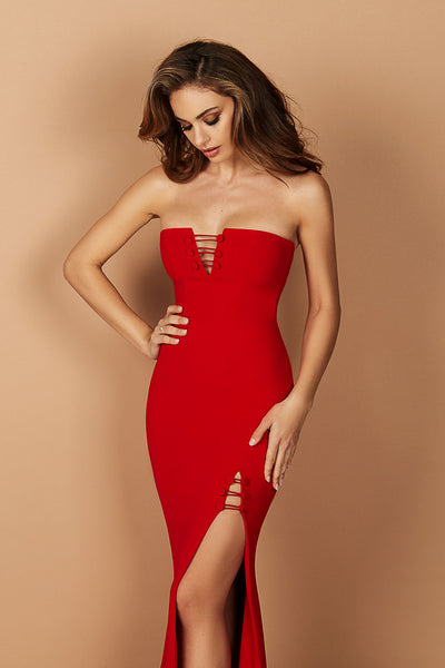 Juliette Gown Red