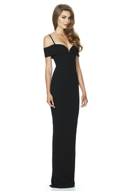 Pretty Women Gown Black