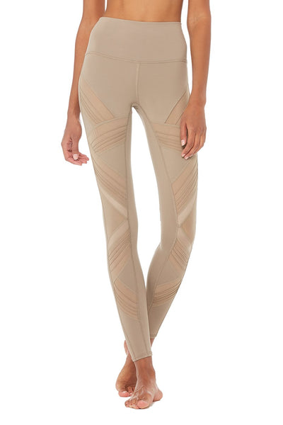 Ultimate High Waisted Legging - Gravel Nude