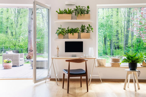 Natural Lighting Home Office