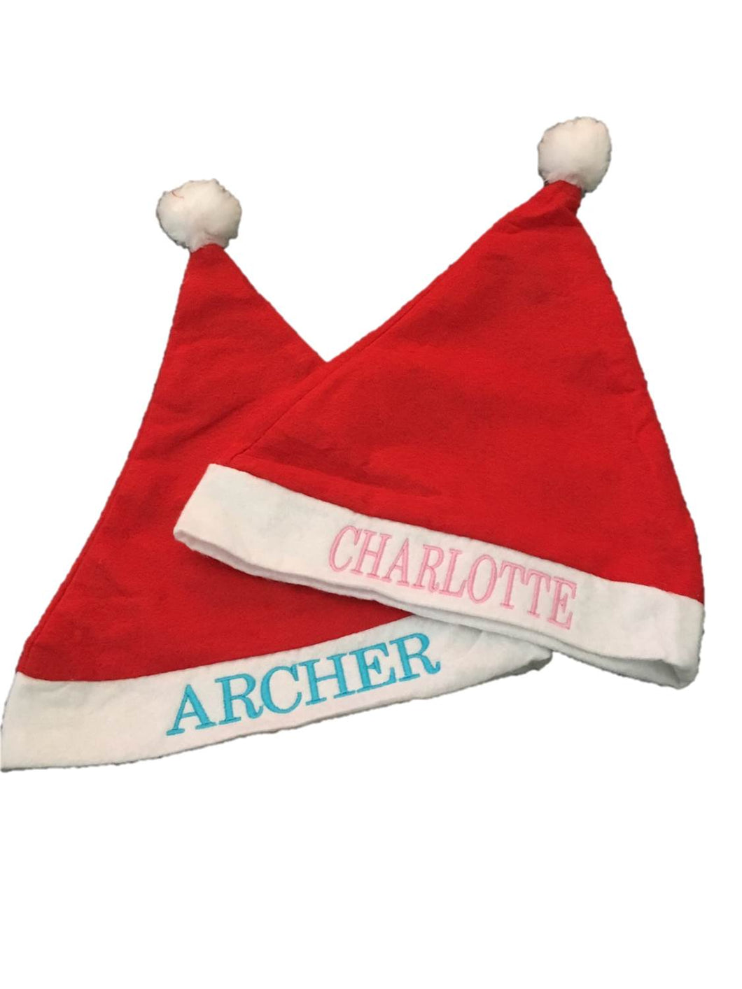 31dbf7c573371 Personalised Santa hats – abiti design