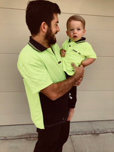 'Just like Dad' Hi-Vis Polos