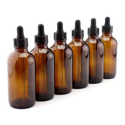 4 oz Dropper Bottle (6 pk) | Holistic Oils