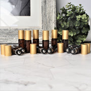 Amber Roller Bottles | Holistic Oils