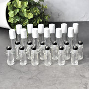 Clear Roller Bottles | Holistic Oils