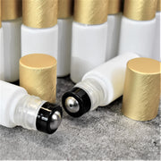 White Roller Bottles | Holistic Oils