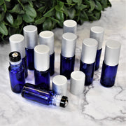 Blue Roller Bottles | Holistic Oils