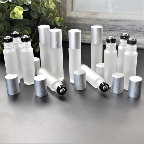 Frosted Clear Roller Bottles