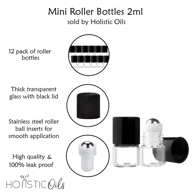 Mini Roller Bottles | Holistic Oils