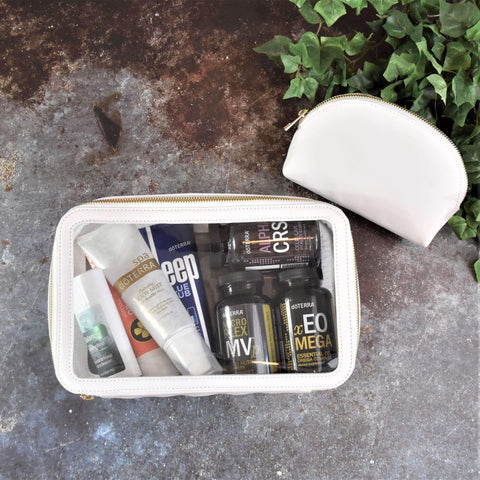 Clear Duo Travel Case | Holistic Oils