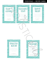Essentials Labels - digital download | Holistic Oils