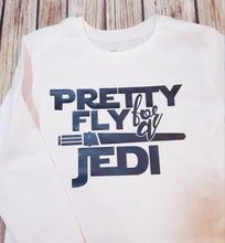 Pretty fly For A Jedi Tshirt - Pitter Patter Baby Boutique