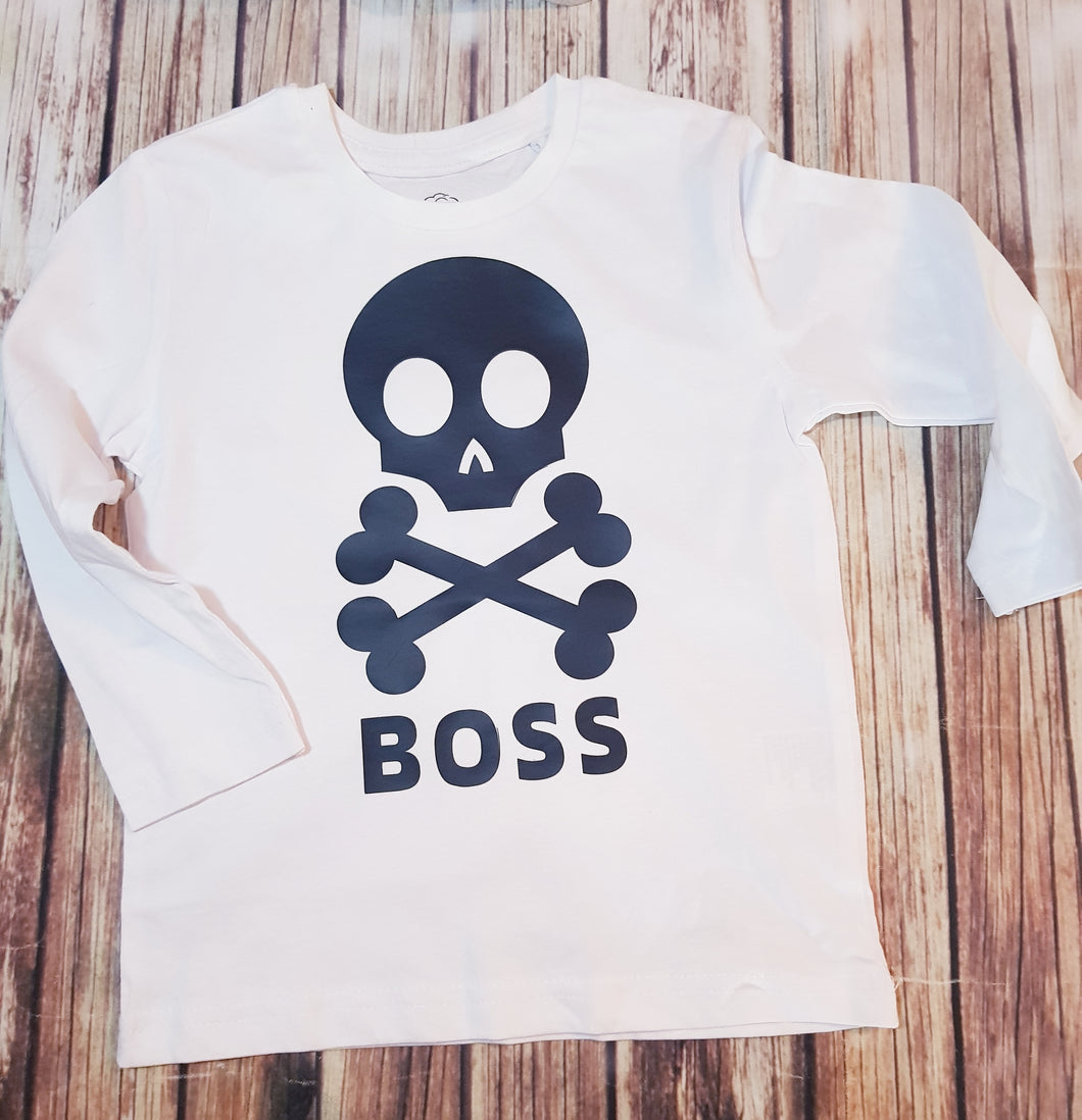 Boss Tee - Pitter Patter Baby Boutique