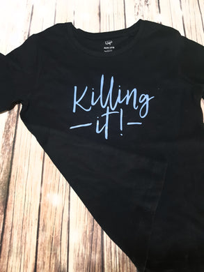 Boy's Killin It Tshirt - Pitter Patter Baby Boutique