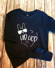 Black And Silver Hip Hop Easter Shirt - Pitter Patter Baby Boutique