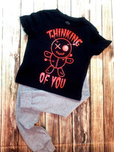 Thinking Of You Red Voodoo Print Shirt - Pitter Patter Baby Boutique