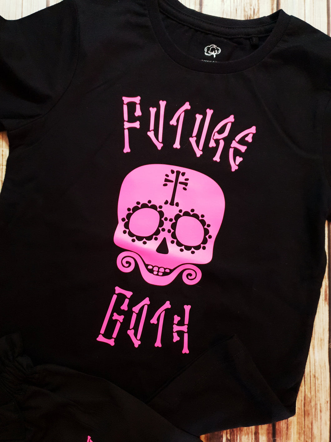 Future Goth Tshirt - Pitter Patter Baby Boutique