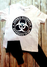 Zombie Outbreak Team Tshirt - Pitter Patter Baby Boutique