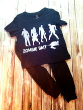 Zombie Bait Reflective Tshirt - Pitter Patter Baby Boutique