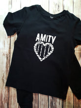 Amity Affliction Design Band Tshirt - Pitter Patter Baby Boutique
