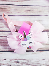 Pink unicorn Headband - Pitter Patter Baby Boutique