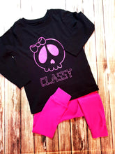 Classy Skull Tee - Pitter Patter Baby Boutique