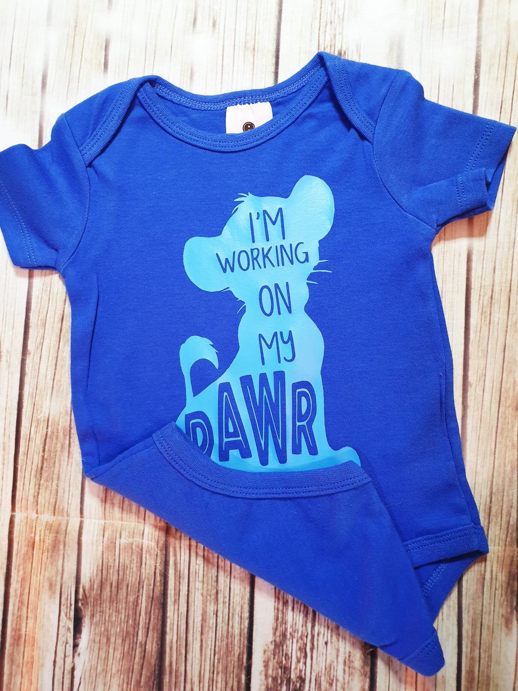 Boy's RAWR onsie - Pitter Patter Baby Boutique