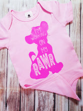 Pink RAW Onsie - Pitter Patter Baby Boutique