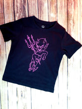 Purple Rowdy Devil Girl's Tshirt - Pitter Patter Baby Boutique