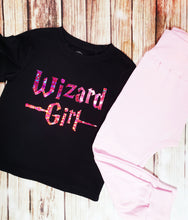 Wizard Girl Tee - Pitter Patter Baby Boutique