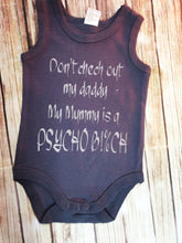 Don't Check Out My Daddy Onsie - Pitter Patter Baby Boutique