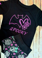 Spooky Bat Girl Tee