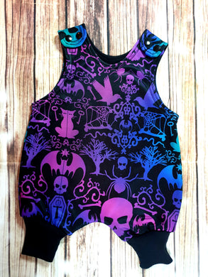 Neon Gothic Rompers