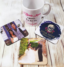 Personalized Coffee Coasters