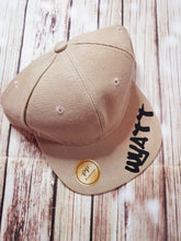 Khaki Personalized Snap Back