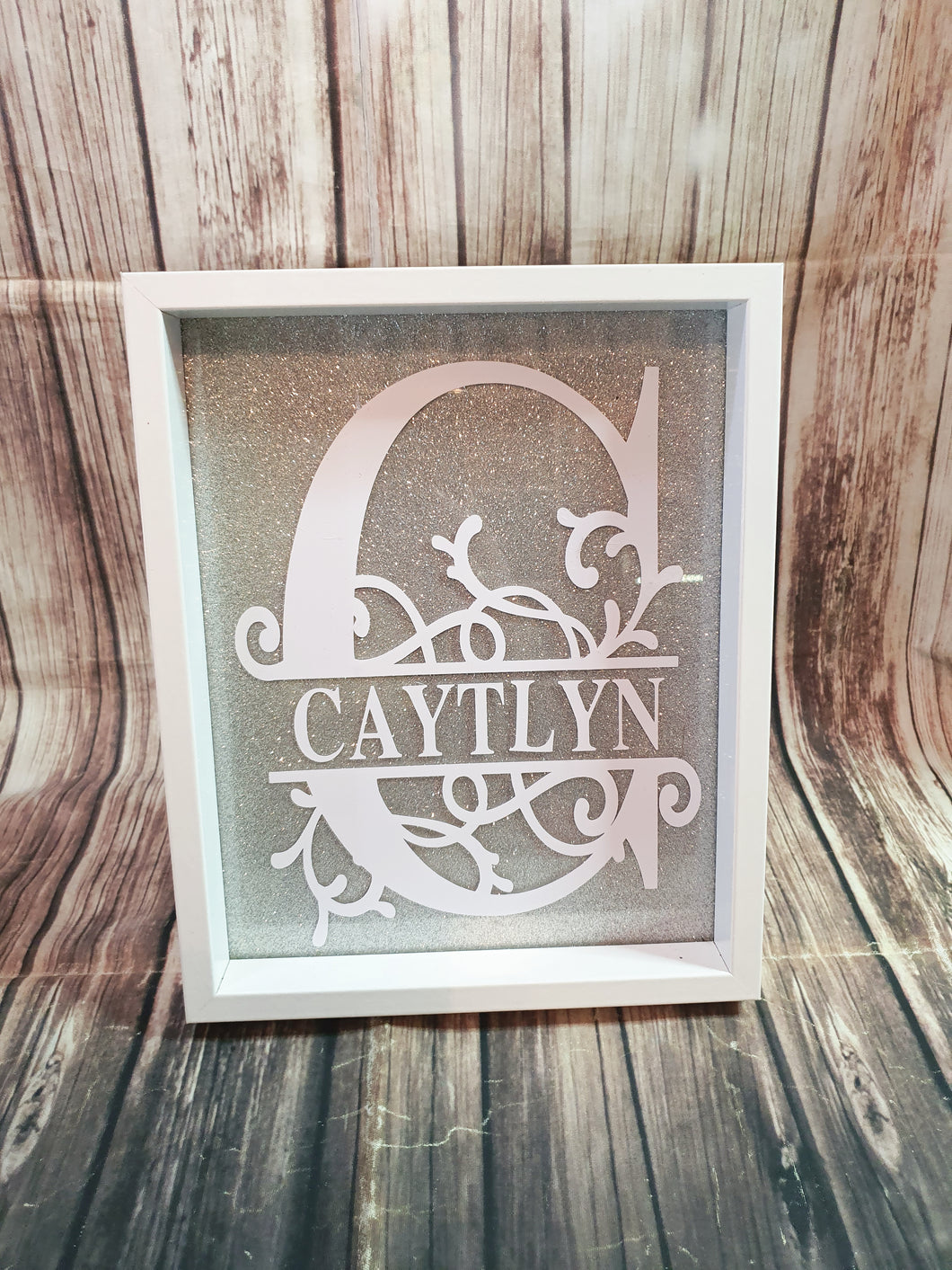 Personalized Name Frame