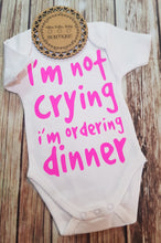 Onsie, Ordering Dinner - Pitter Patter Baby Boutique