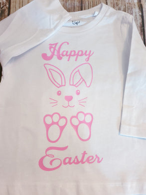 Girl's Easter bunny Shirt - Pitter Patter Baby Boutique