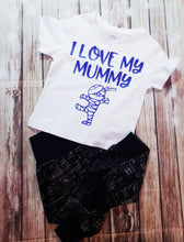 Boy's Love My Mummy Shirts - Pitter Patter Baby Boutique