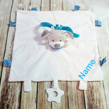 Personlized Puppy Tag Blanket