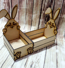 Wood Bunny Basket
